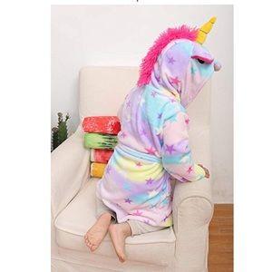 Other - 🔥NEW🎉Kids fleece unicorn robe🎉 🔥